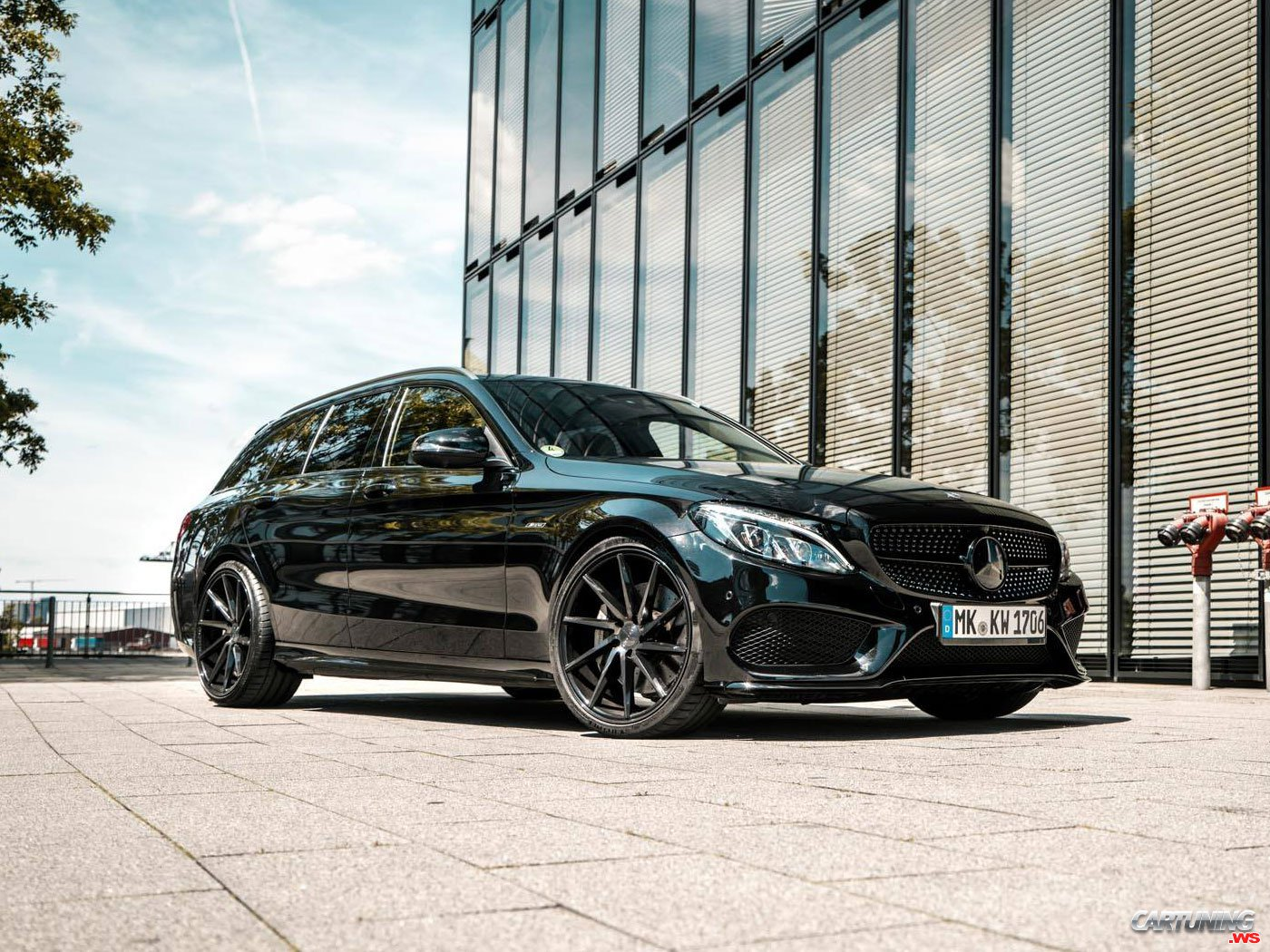 Tuning Mercedes-Benz C43 AMG S205