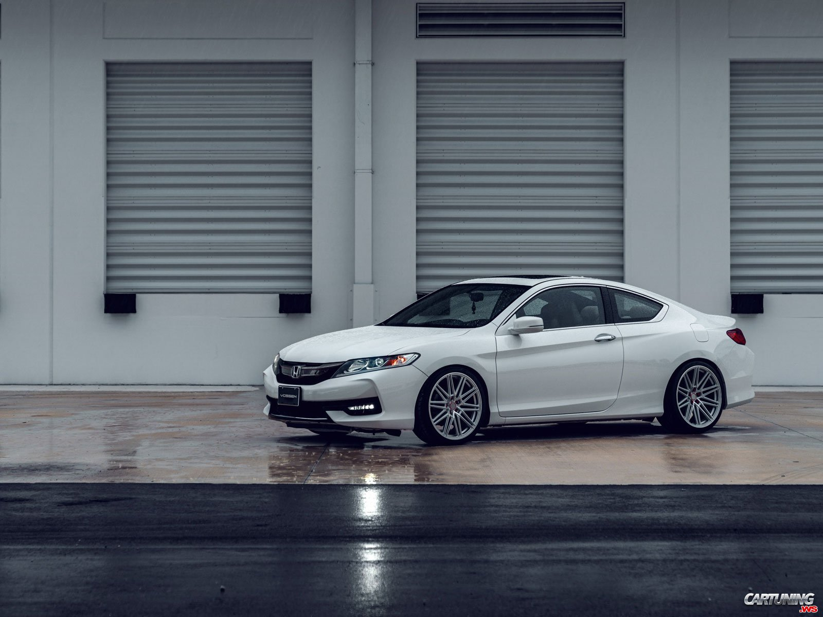 Tuning Honda Accord Coupe 2016 Front And Side