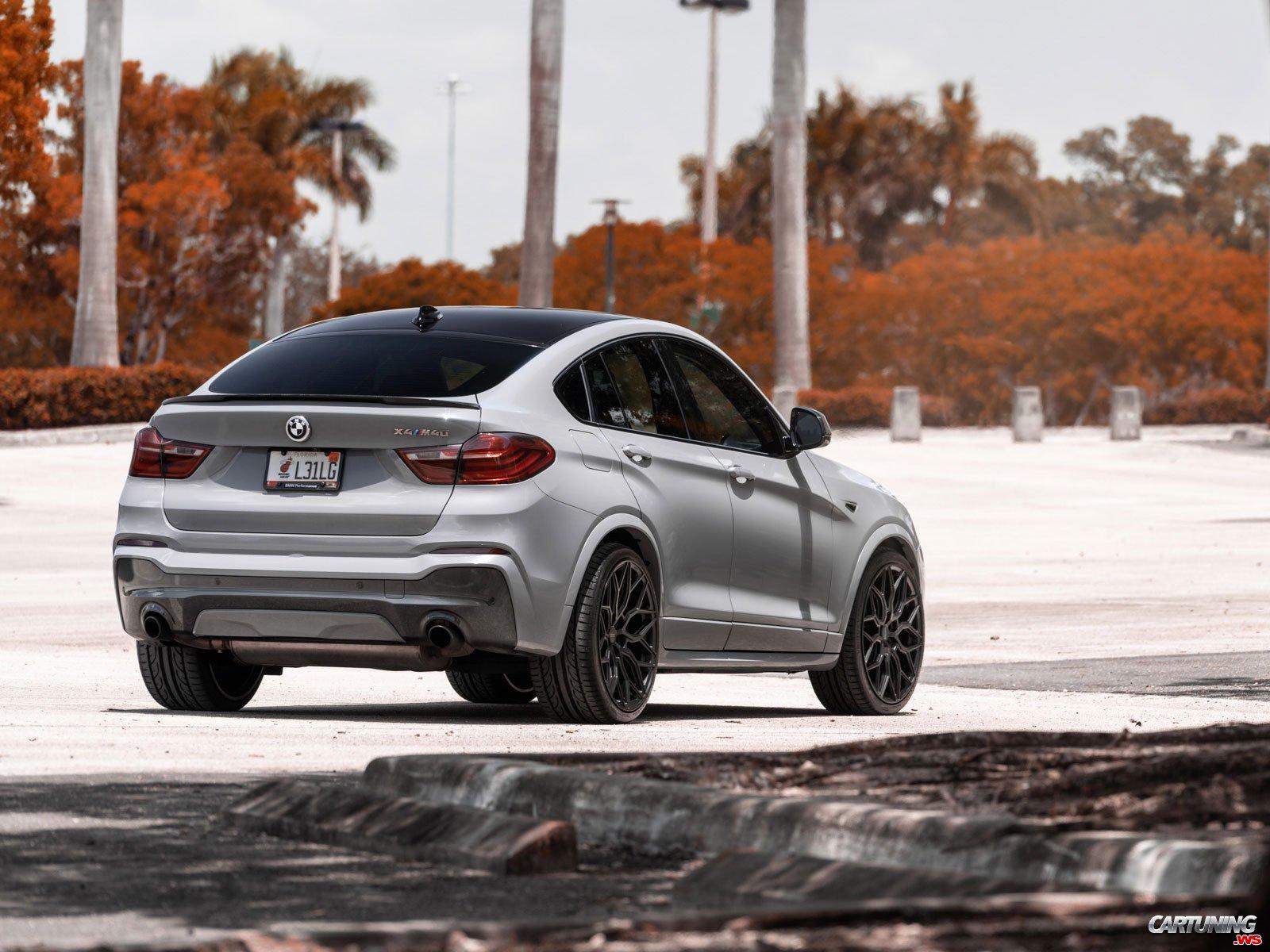 Tuning BMW X4 F26 2014, rear