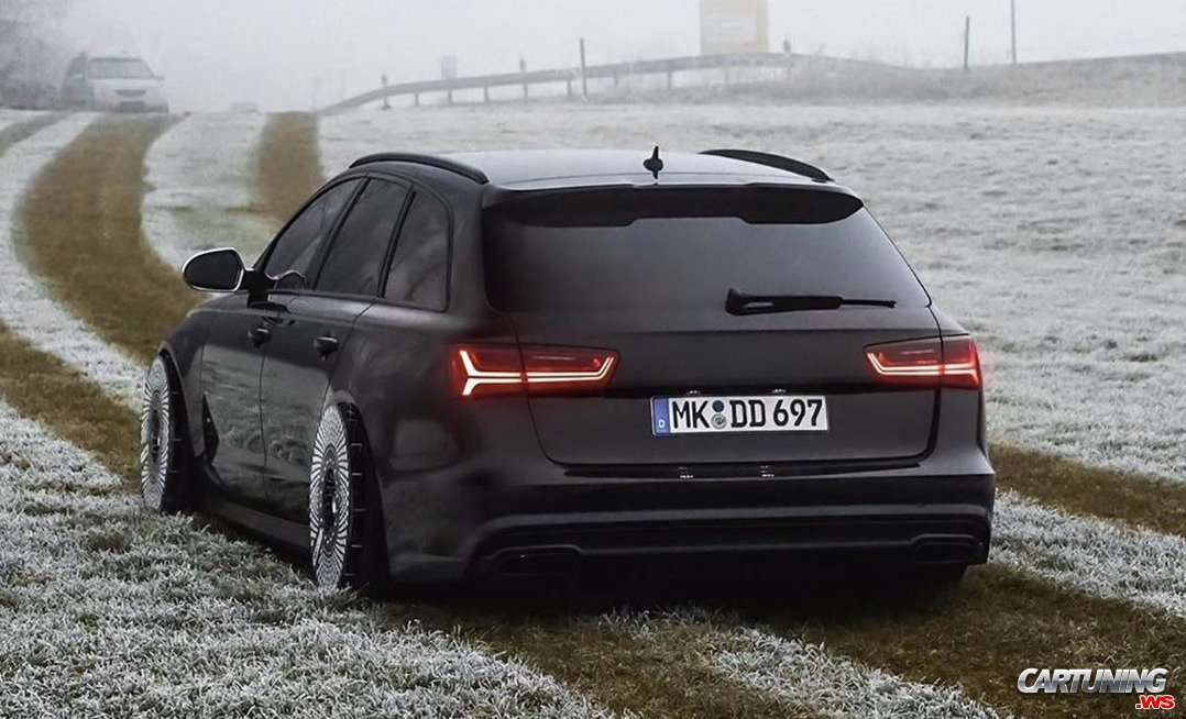 Audi A6 Avant C7 Airlift Back
