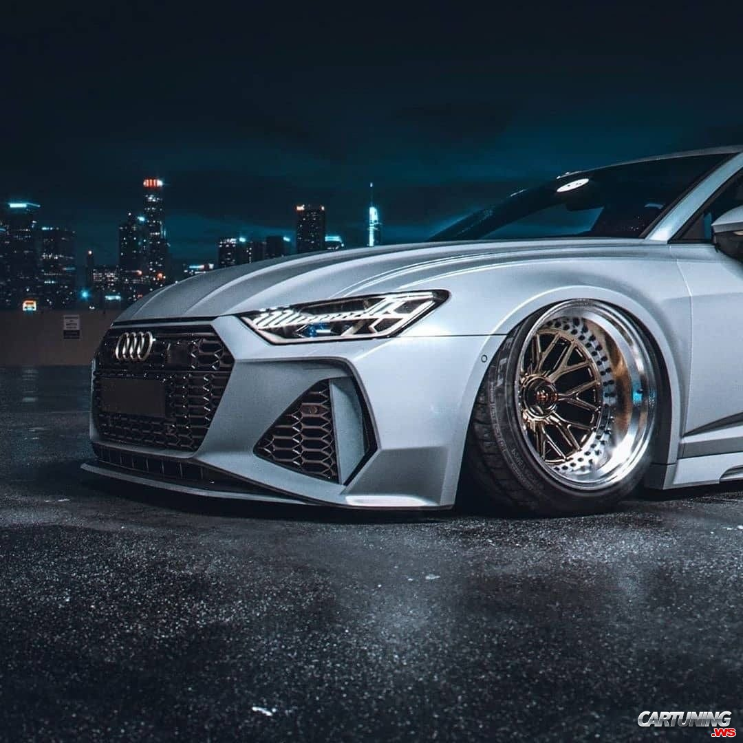 Audi RS6 C8 Wide Body, Front And Side