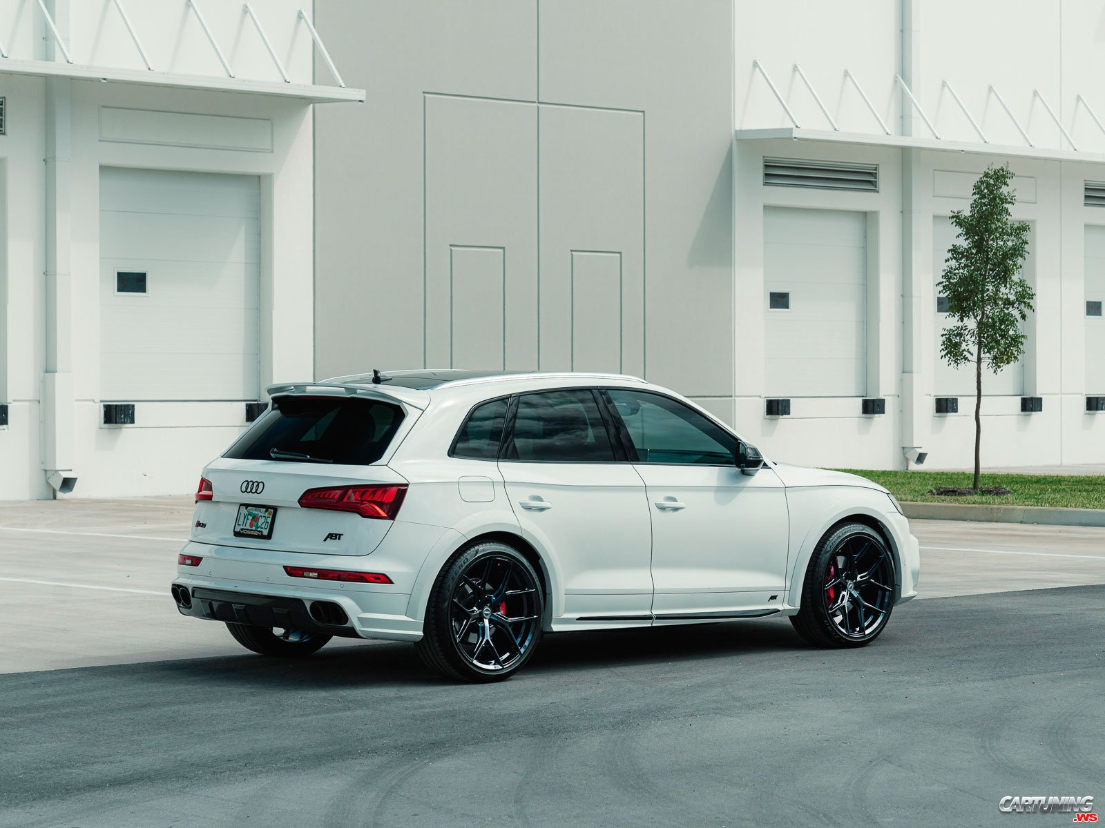 Audi SQ5 ABT 2021, rear