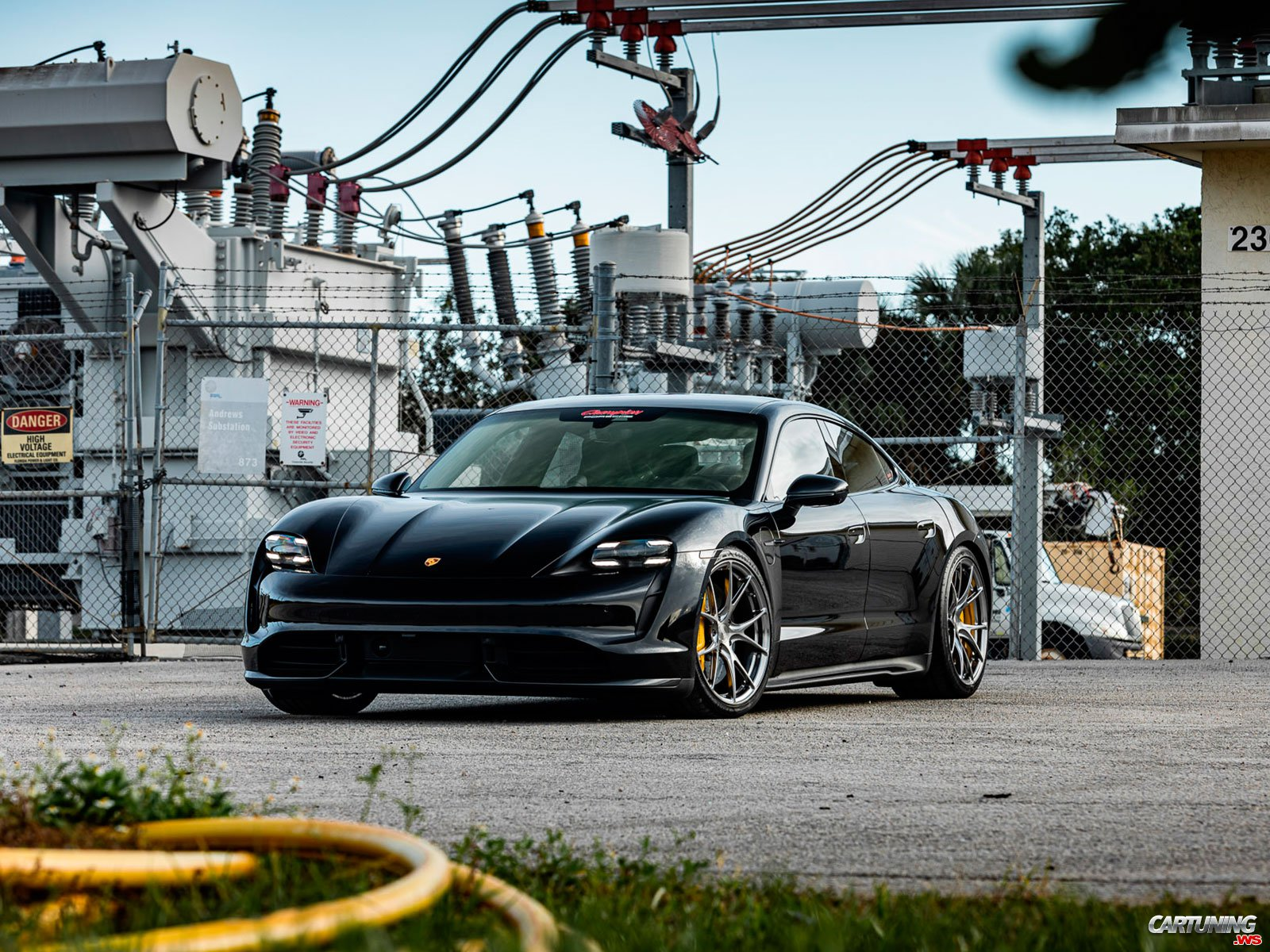 Tuning Porsche Taycan