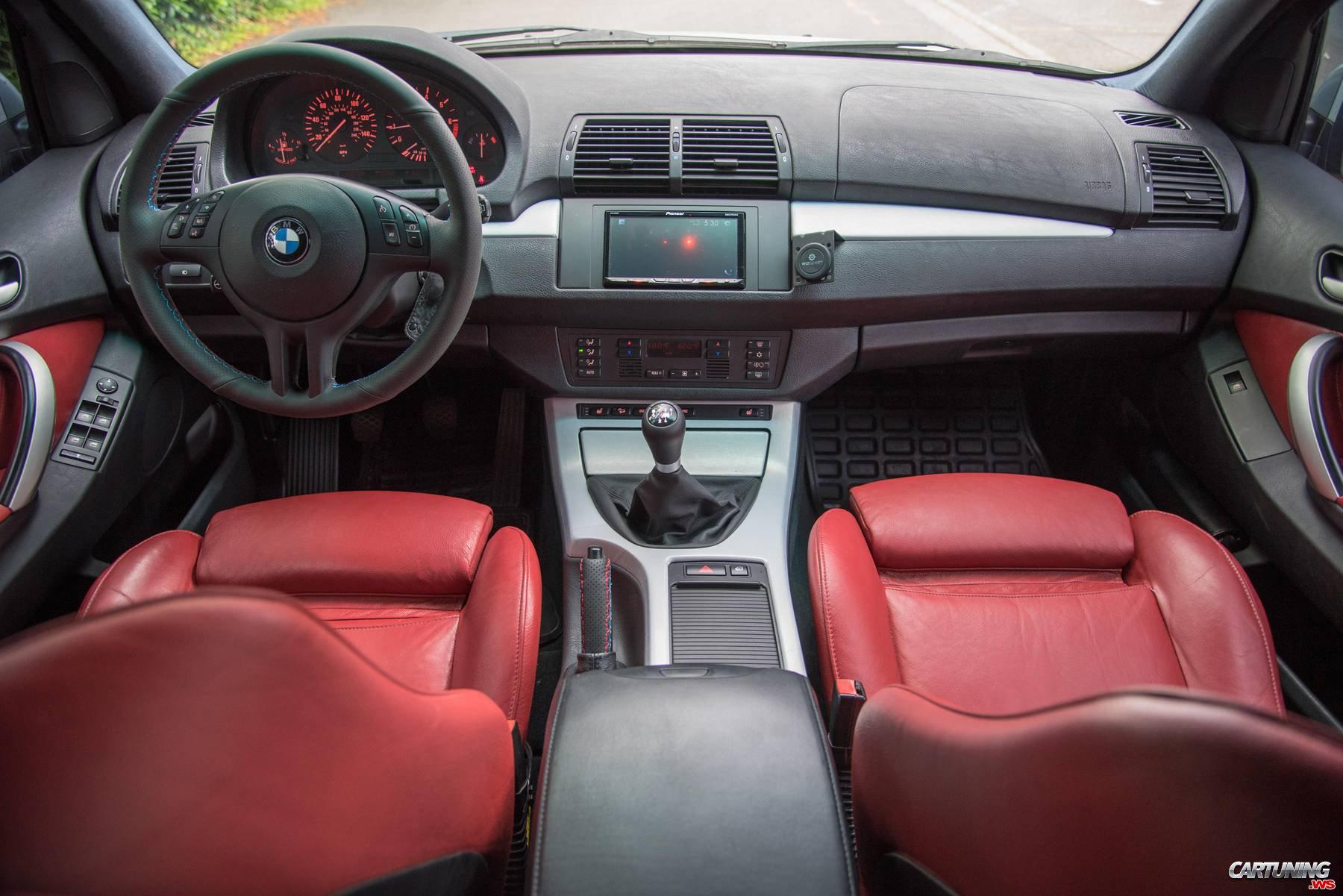 Lifted BMW X5 E53, interior