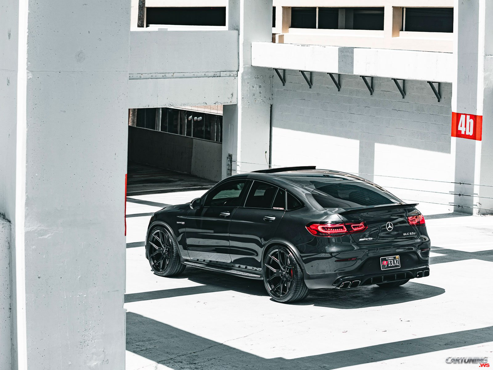 Tuning Mercedes Benz Glc Coupe 63s C253 Rear